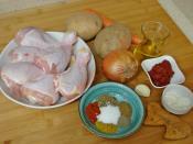 Fırında Tavuk Baget