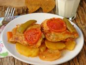 Tencerede Tavuk Pirzola