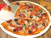 Fırında Lavaş Pizza