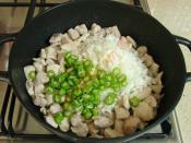 Tavuklu Patlıcan Kebabı