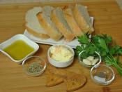 Sarımsaklı Ekmek Dilimleri
