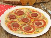 Tavada Domates Pizzası