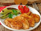 Tavuk Göğsü Kızartması