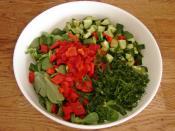 Kabaklı Semizotu Salatası