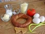 Tavada Bayat Simit Böreği