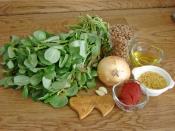 Yeşil Mercimekli Semizotu Yemeği