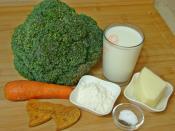 Fırında Brokoli Graten