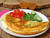 Kabartma Tozlu Omlet