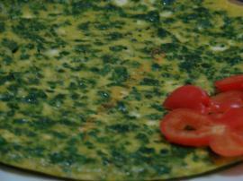 Ispanaklı Omlet