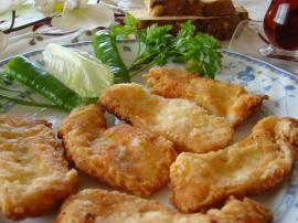Peynir Kızartması (Kelle Peyniri)