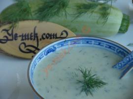 Sütlü Kabak Çorbası