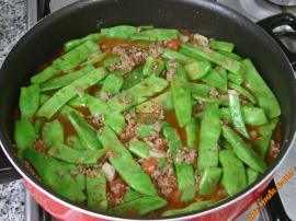 Green Beans with Minced Meat Recipe