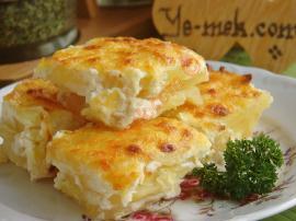 Labneli Patates Graten Nasıl Yapılır?