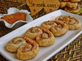 Puff Pastry Cinnamon Crisps Recipe
