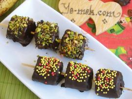 Chocolate Covered Bananas Snacks Recipe