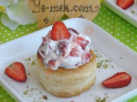 Strawberry Cream Vol-au-vents Recipes