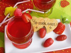 Homemade Strawberry Juice Recipe
