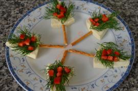 Pine Tree Canapes Recipe