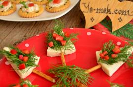 Pine Tree Canapes Recipe