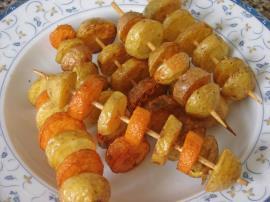 Çubukta Taze Patates Kızartması