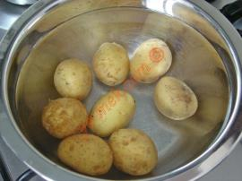 Parmesan Baked Fresh Potato Recipe
