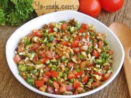 Gavurdagi Salads Recipe