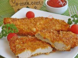 crumbed chicken schnitzel how to cook