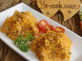 Green Lentil Couscous (Bulgur) Recipe