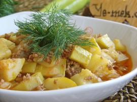 Zucchini With Minced Meat Recipe