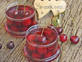 Sour Cherry Compote Recipe