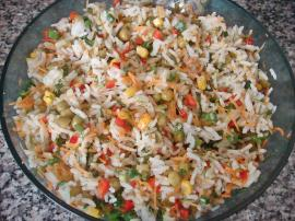 Chinese Salad (Rice Salad) Recipe