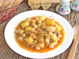 Nohutlu Patates Yahnisi