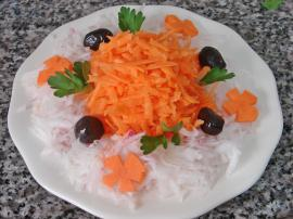 Radish Salad With Carrot Recipe