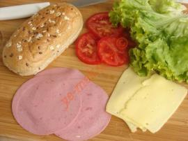 Jambonlu Sandviç