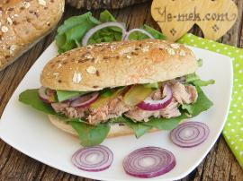 Arugula Tuna Fish Sandwich Recipe