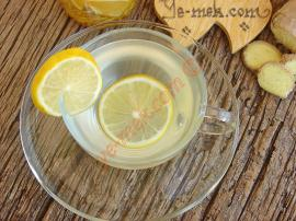 Ginger Lemon Tea Recipe
