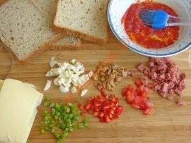 Stale Bread Pizza Recipe