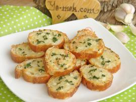 Baked Garlic Bread Recipe