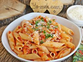 Penne Arabiatta Recipe (Spicy Tomato Sauce Pasta)