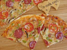 Karışık Tortilla Pizza Nasıl Yapılır?