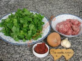 Kıymalı Ispanak Yemeği