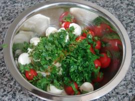 Mozzarella Tomato Salad Recipe