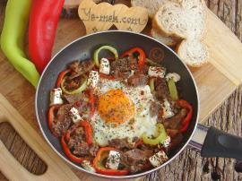 Roasting Beef With Egg Recipe