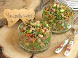 Kuru Börülce Salatası