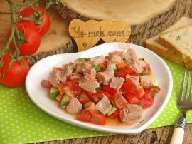 Ton Balıklı Yaz Salatası