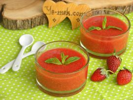 Fresh Strawberry Sauce Recipe