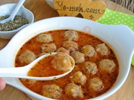 Mini Meatball Soup Recipe