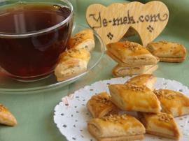 Tahinli Şerit Çay Kurabiyesi Nasıl Yapılır?