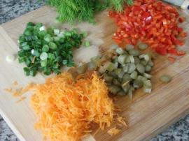 Renkli Şehriye Salatası