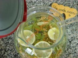 Limonlu Ihlamur Çayı